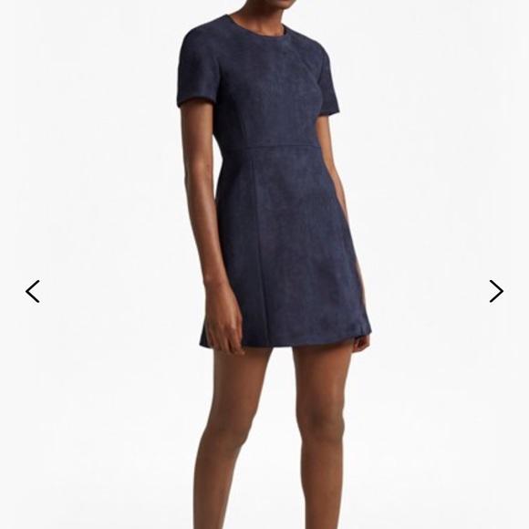 648d4ce2c38 French Connection faux suede dress. French Connection.  M_5be89d1ce944bad1ef090652. M_5be89d2cbaebf614b8eeb720.  M_5be89d36de6f62a944424f76